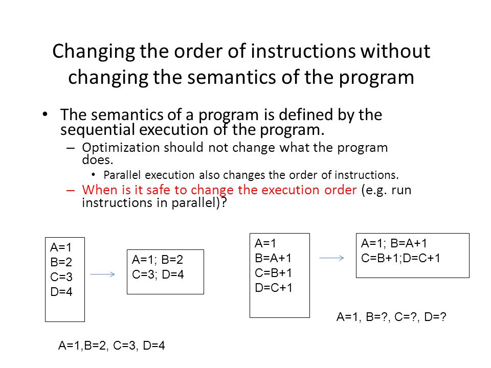 Loop optimization in action Optimizing matrix multiply: For (i=1; i<=N; i++) for (j=1; j<=N; j++) for(k=1; k<=N; k++) c(I, j) = c(I, j) + A(I, k)*B(k, j) Where should we focus on the optimization.