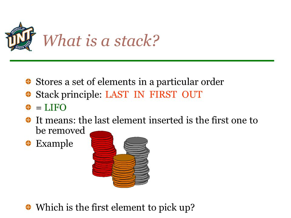 What is a stack.