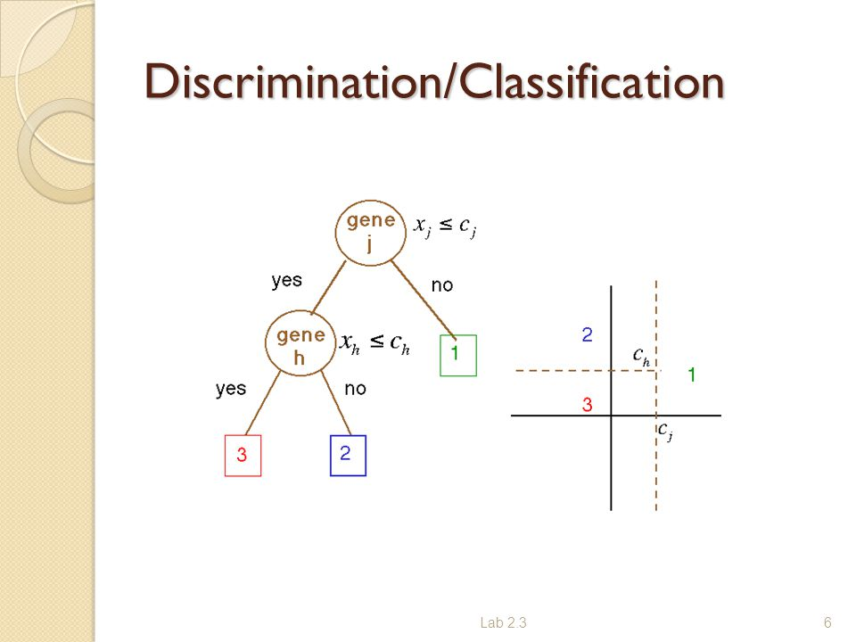 Discrimination/Classification Lab 2.36