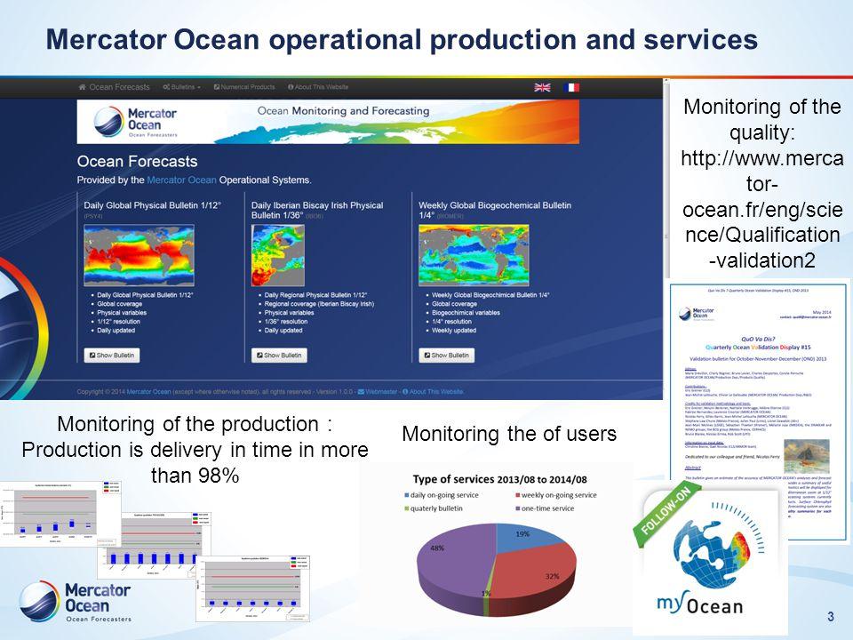 4 Carateristitics of the systems Lellouche et al., 2013, Ocean Science.
