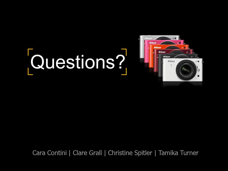 Questions? Cara Contini | Clare Grall | Christine Spitler | Tamika Turner