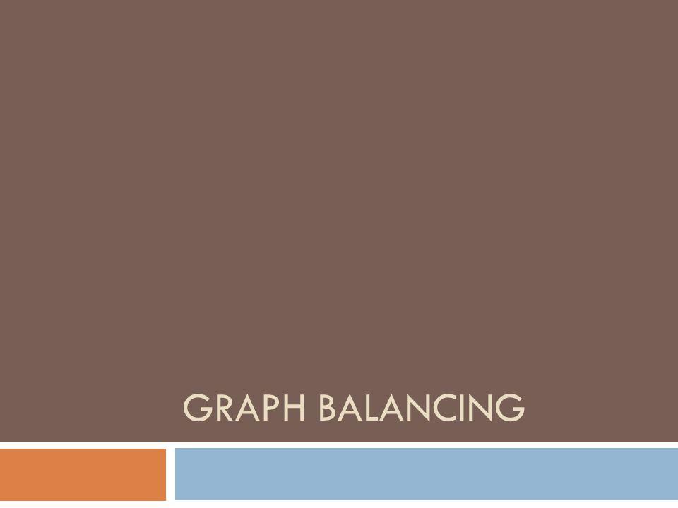 GRAPH BALANCING