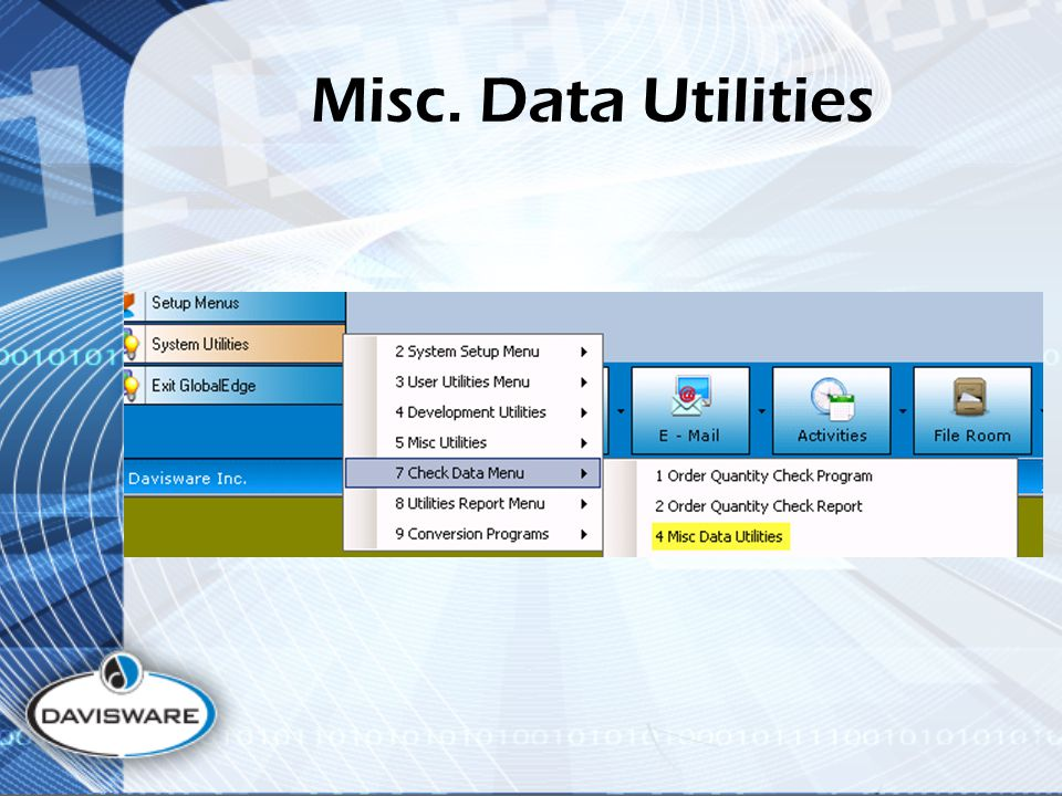 Misc. Data Utilities