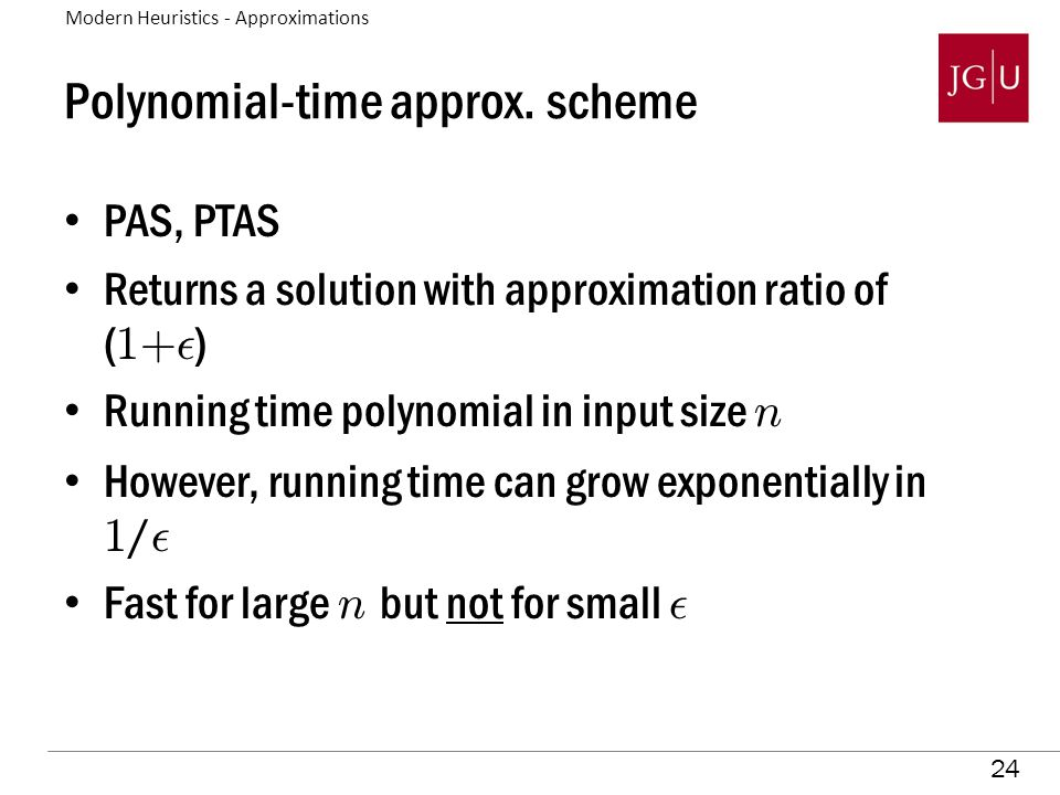 24 Polynomial-time approx.