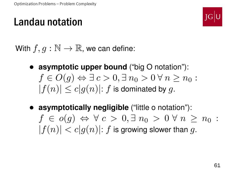 61 Landau notation 3.