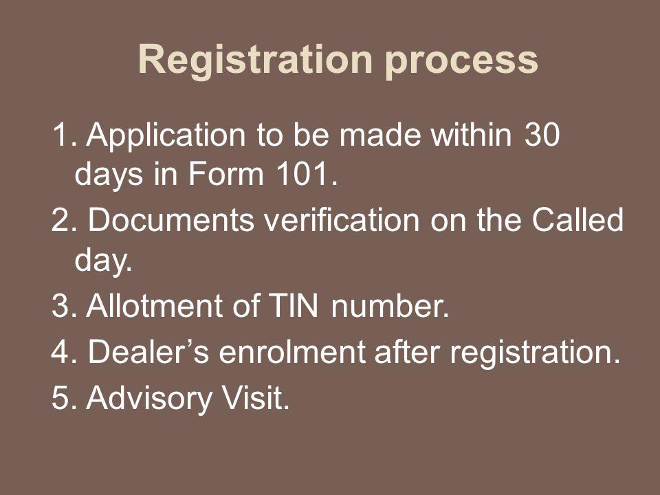 Preparing VAT Audit programme Factors to be considered: 1.