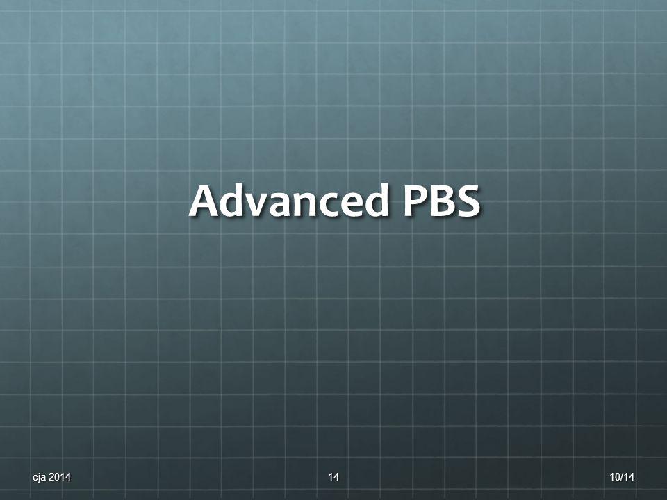 Advanced PBS 10/14cja 201414
