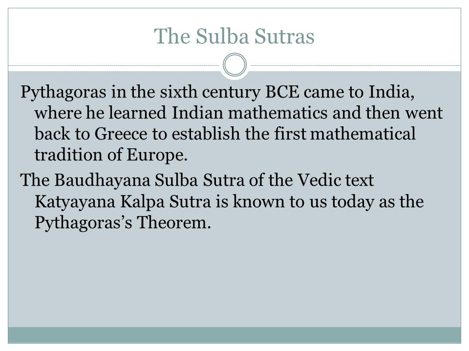 However, some mathematicians and scientists fled to the South, where they continued to flourish as the South or Kerala school of Indian mathematics. N