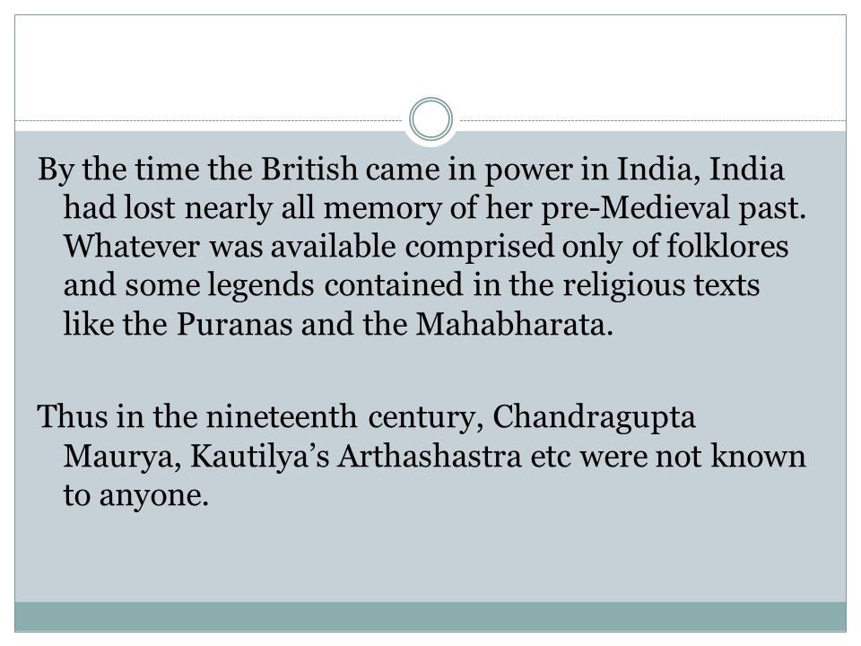 Rediscovering Indian Past