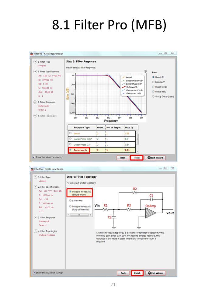 8.1 Filter Pro (MFB) 71