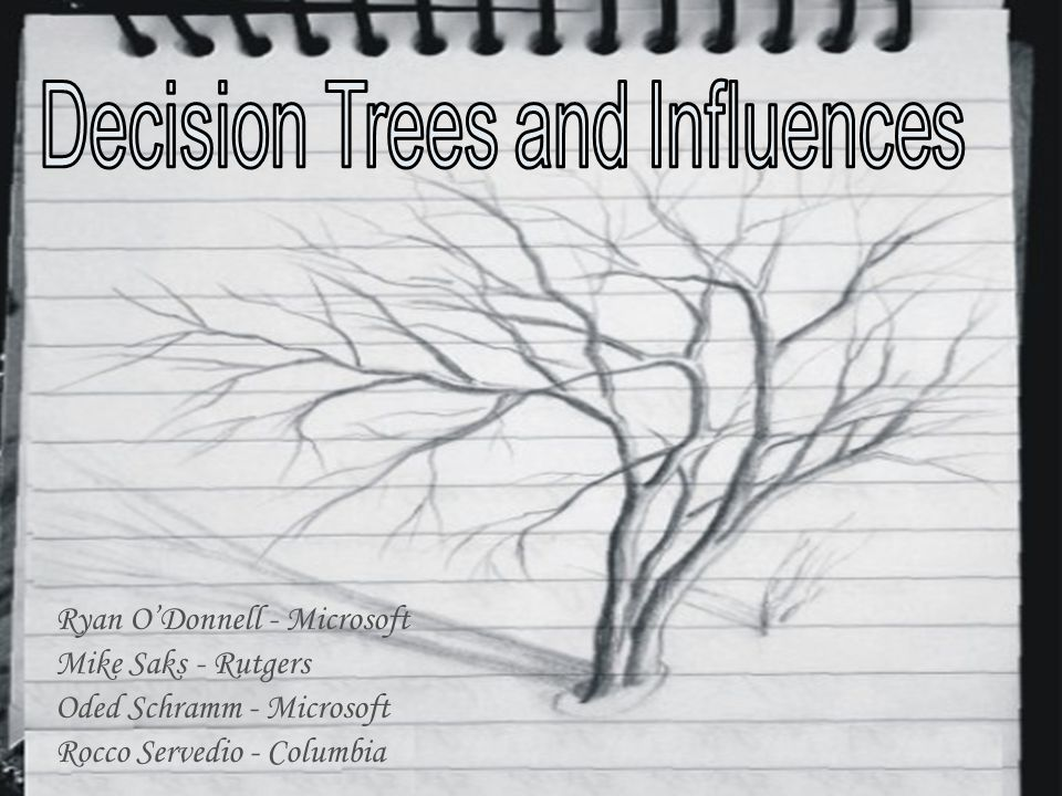 Part I: Decision trees have large influences