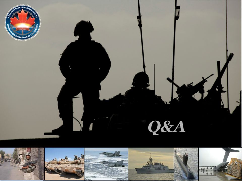 13 Chief of Force Development / Chef du développement des Forces Q&A