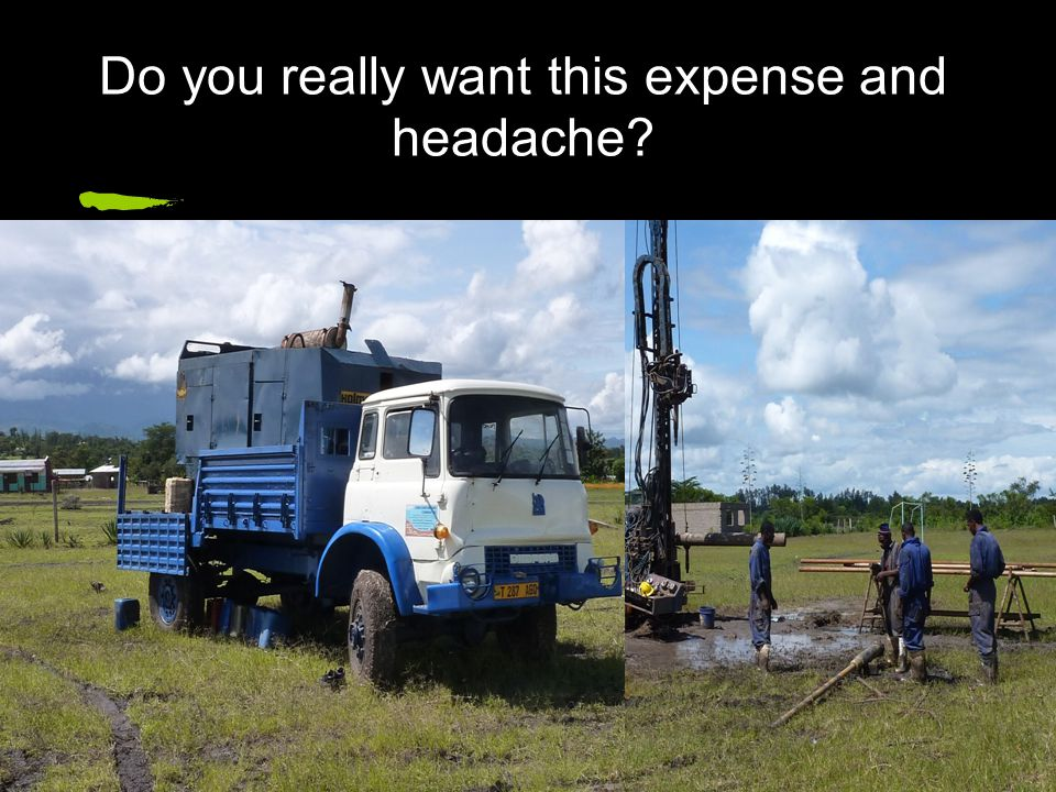 Do you really want this expense and headache?