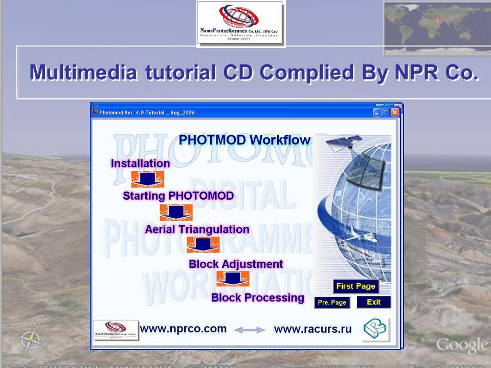 Multimedia tutorial CD Complied By NPR Co.