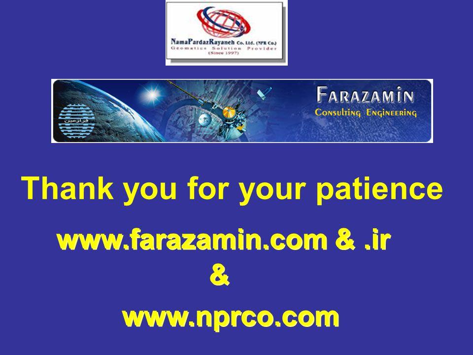 www.farazamin.com &.ir Thank you for your patience www.nprco.com & &