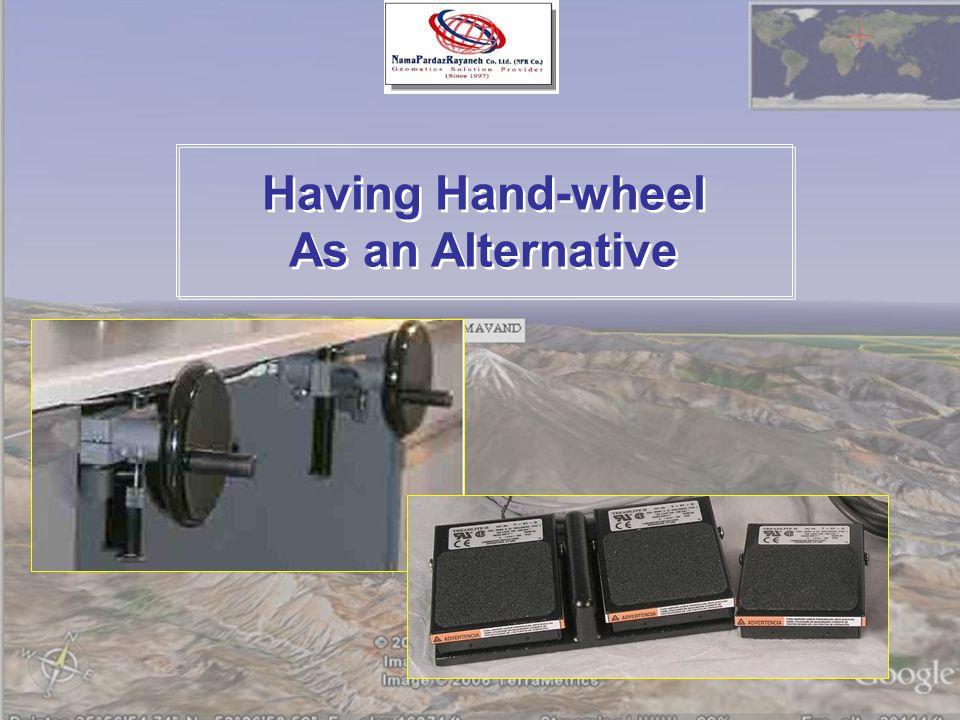 Having Hand-wheel As an Alternative Having Hand-wheel As an Alternative