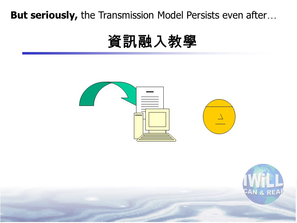 But seriously, the Transmission Model Persists even after … 資訊融入教學