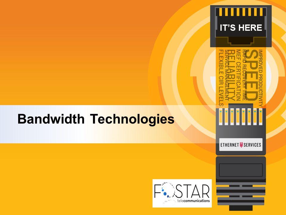 IT'S HERE Bandwidth Technologies