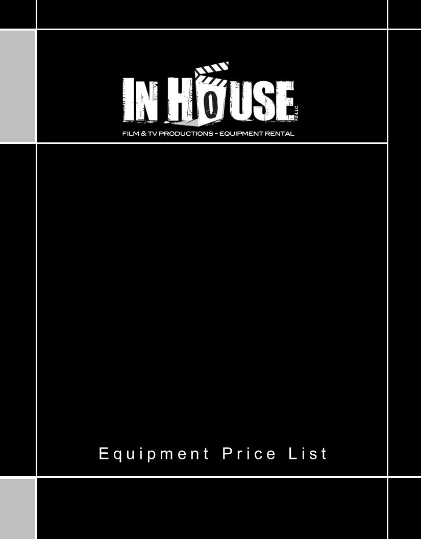 Equipment Price List