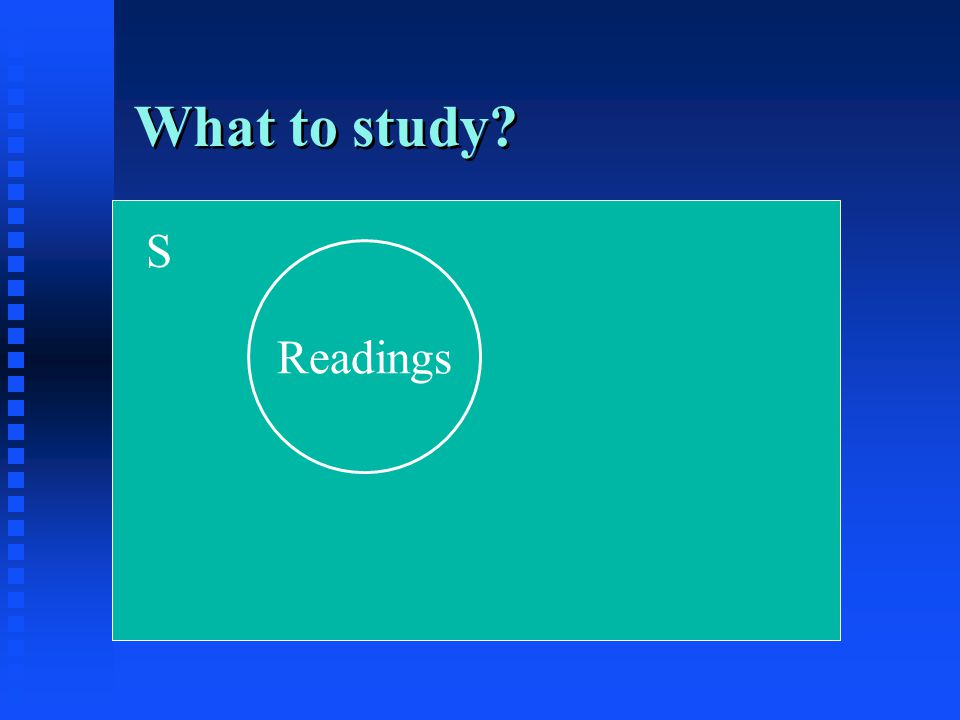S Readings