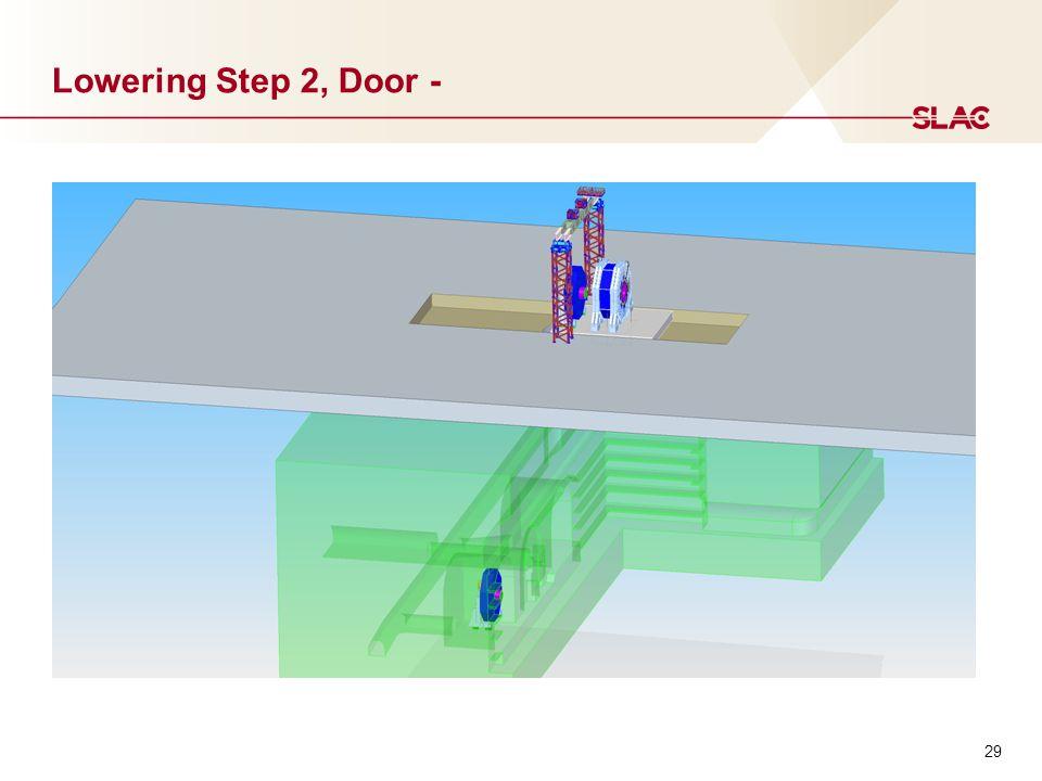 29 Lowering Step 2, Door -