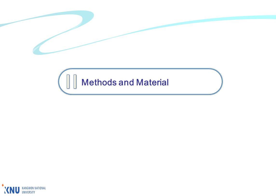 Methods and Material