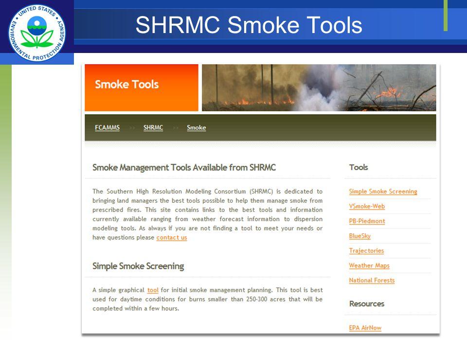 SHRMC Smoke Tools