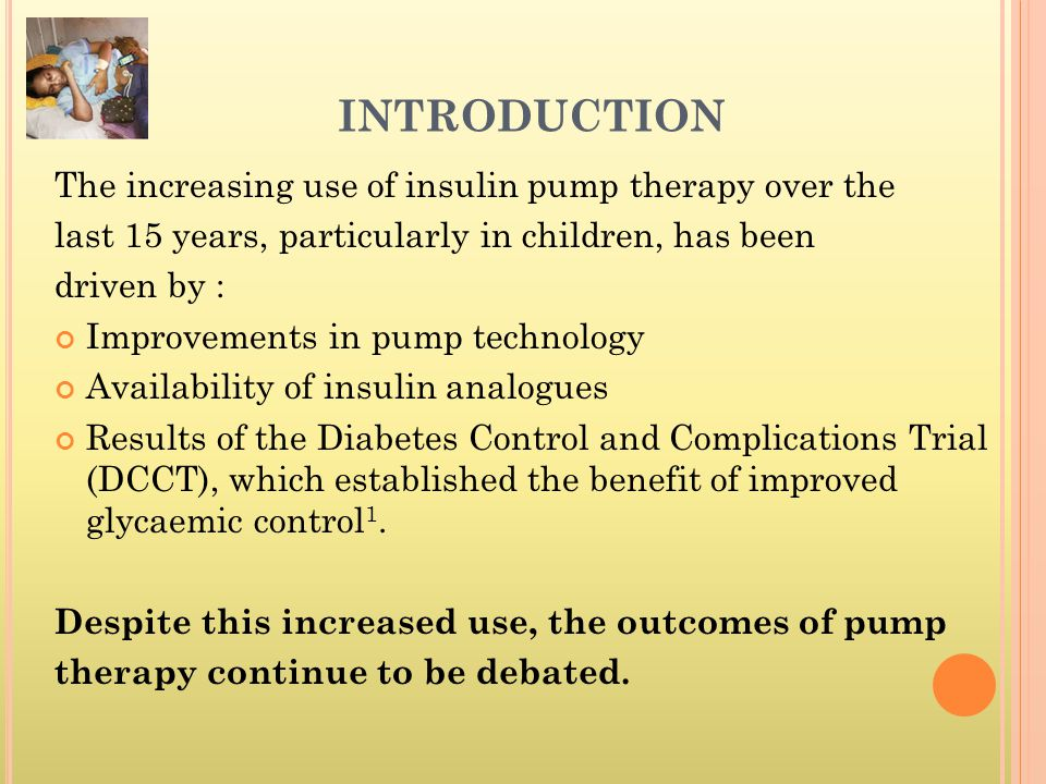 F UTURE OF INSULIN PUMPS CLOSED LOOP SYSTEM MIMICK PANCREAS : insulin pump technology is combined with a continuous blood glucose monitoring system, the technology seems promising for real-time control of the blood sugar level.