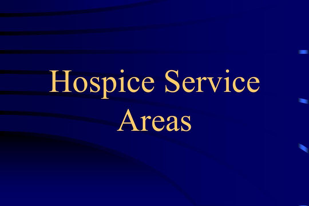Hospice Service Areas