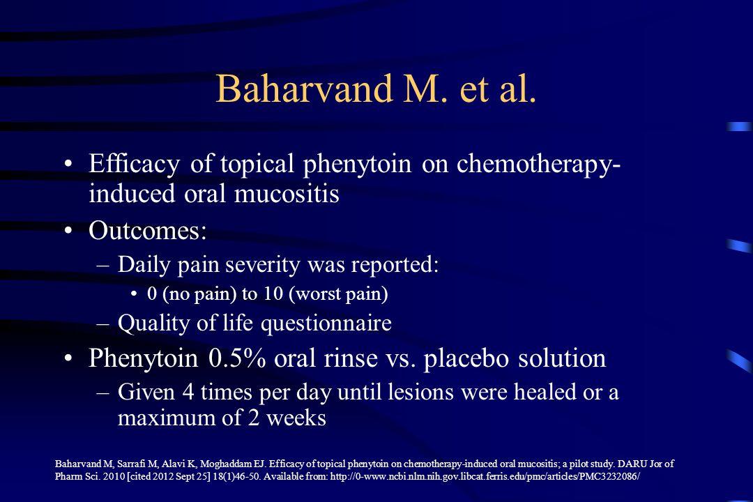 Baharvand M.et al.