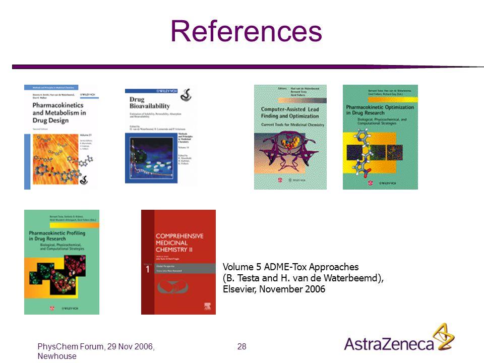PhysChem Forum, 29 Nov 2006, Newhouse 29 Thanks et bon appetit……