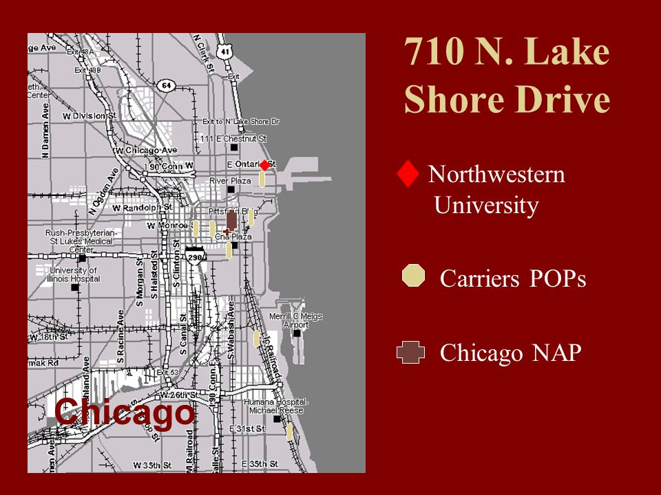 710 N. Lake Shore Drive Northwestern University Carriers POPs Chicago NAP Chicago
