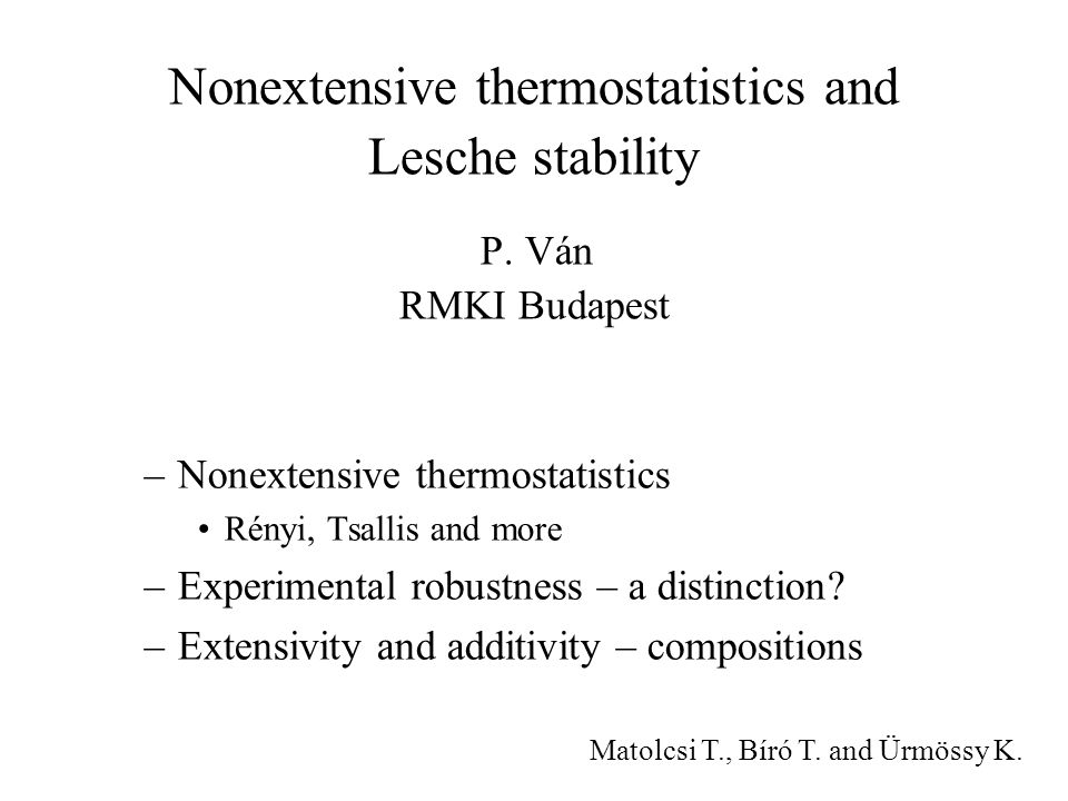 Nonextensive thermostatistics and Lesche stability P.