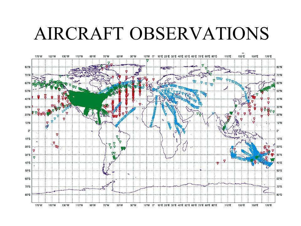 AIRCRAFT OBSERVATIONS