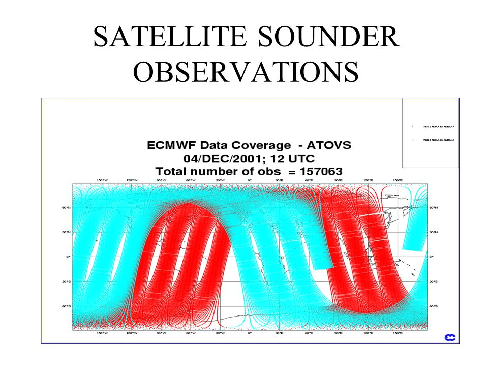 SATELLITE SOUNDER OBSERVATIONS