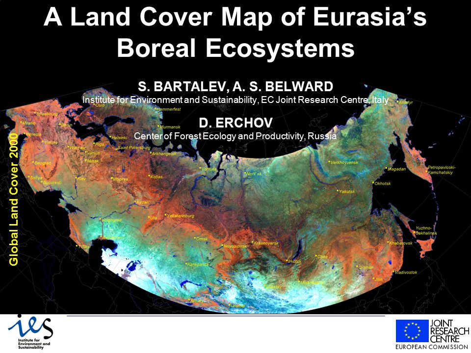 A Land Cover Map of Eurasia's Boreal Ecosystems S.