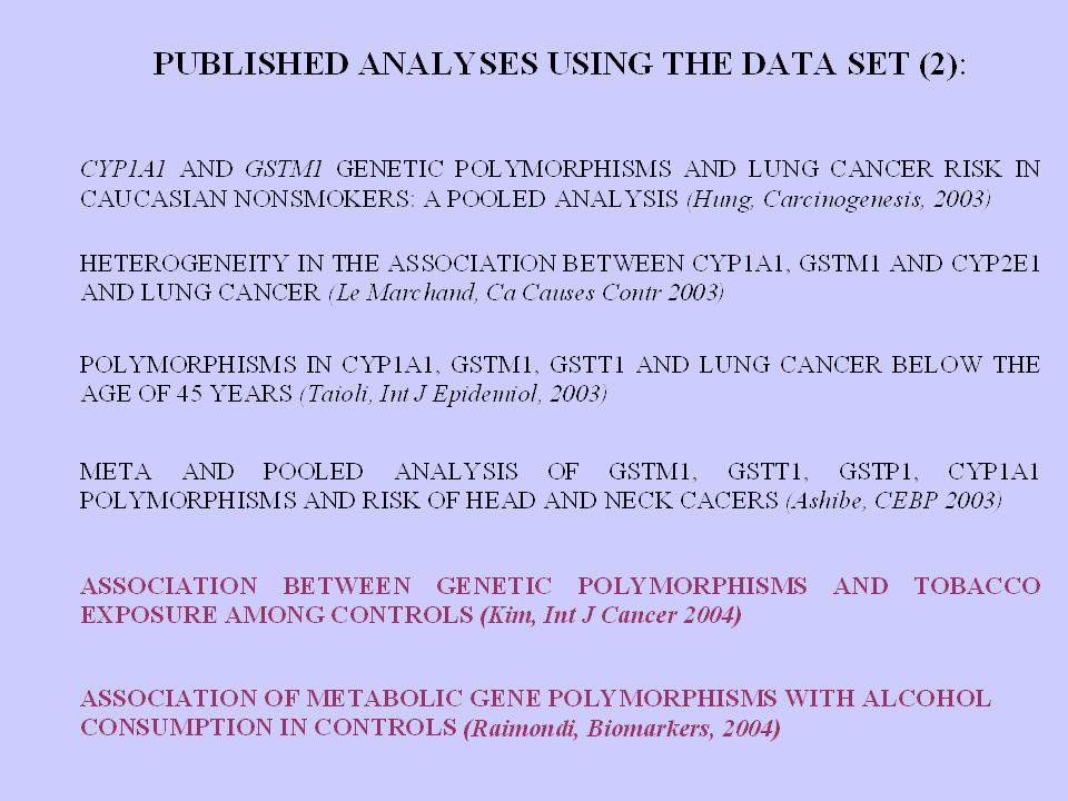GSEC STUDY: CURRENT DATA ENTRY STATUS (Last Update: October, 2005) Investigators 111 Studies203 Total subjects 73,154 Cases31,977 Controls41,177 ===========================