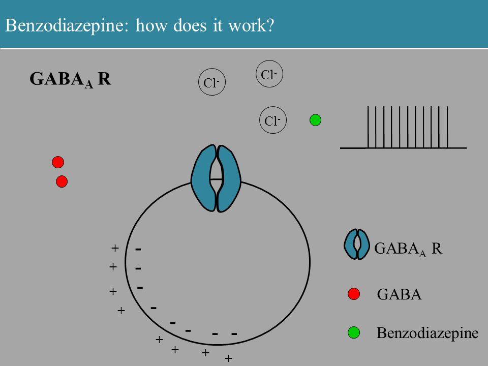 Benzodiazepine: how does it work.