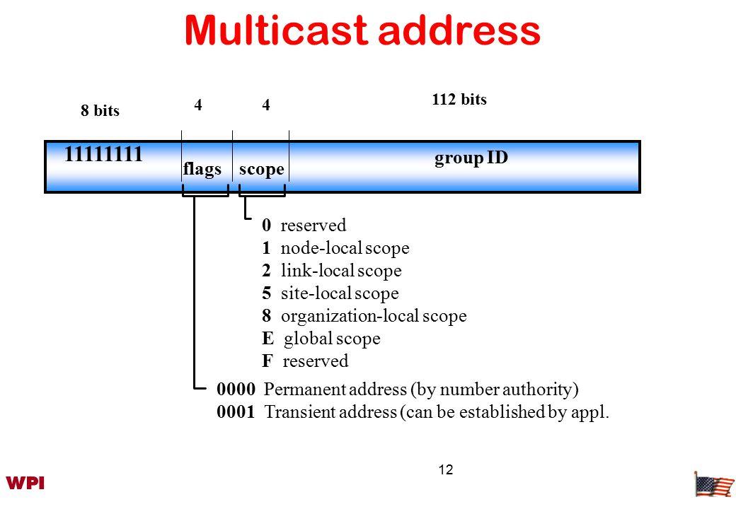 13 IPv4 vs.
