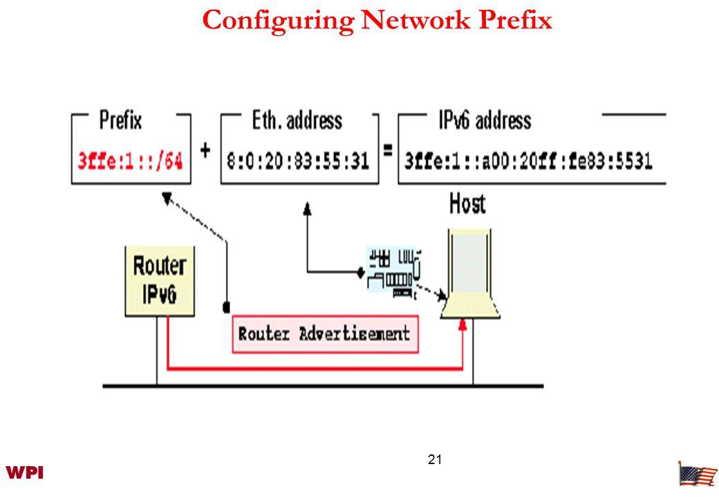 21 Configuring Network Prefix