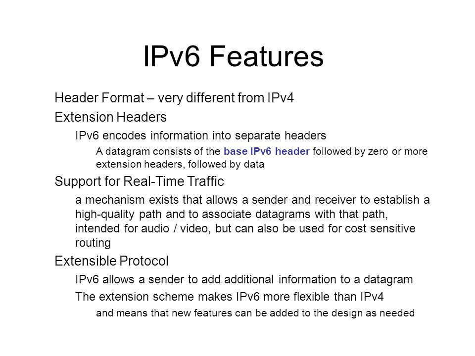 cs423-cotter39 Client / Server with IPv6 New Functions, structures, constants –inet_pton( ) - instead of inet_addr( ) –inet_ntop( ) – instead of inet_ntoa( ) –struct sockaddr_in6 addr –AF_INET6, PF_INET6