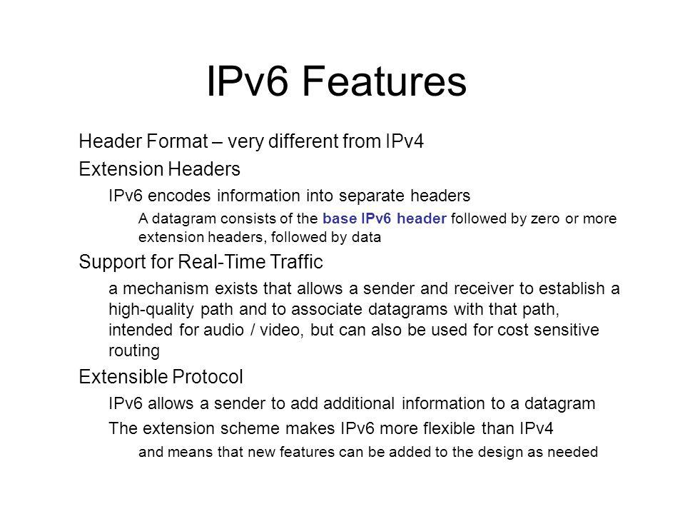 © 2009 Pearson Education Inc., Upper Saddle River, NJ. All rights reserved. 9 IPv6 Datagram Format