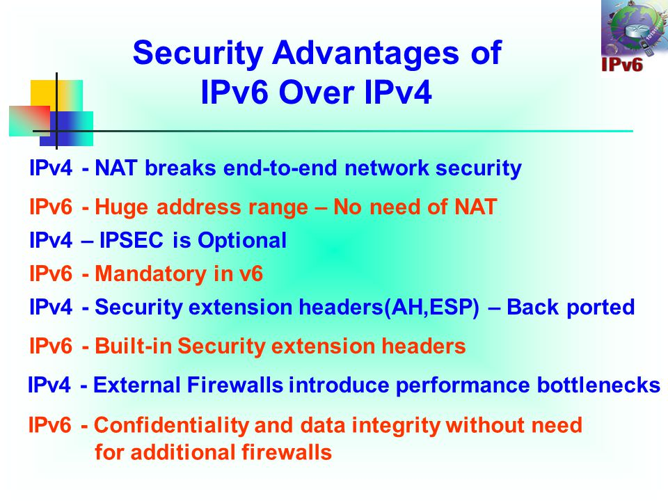 Dual Stack Approach & DNS In a dual stack case, an application that: Is IPv4 and IPv6-enabled Asks the DNS for all types of addresses Chooses one address and, for example, connects to the IPv6 address DNS Server IPv4 IPv6 www.sjsu.com = * .