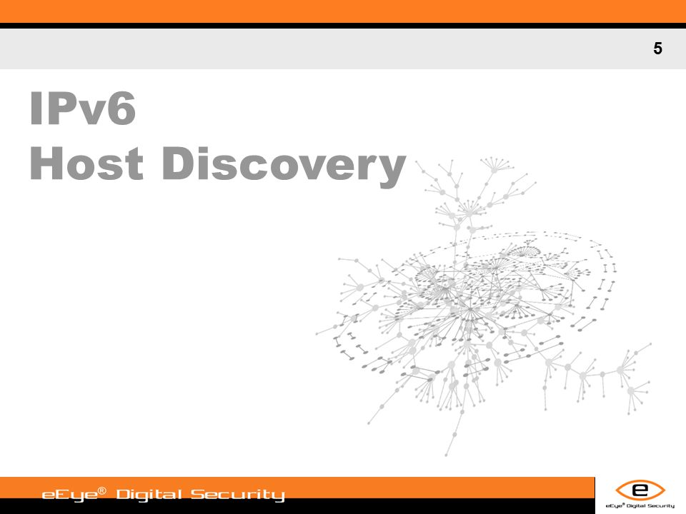 5 IPv6 Host Discovery