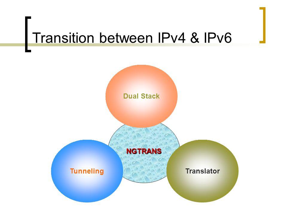 IPv4/IPv6 Transition