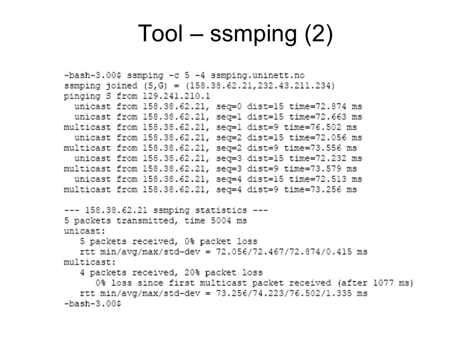 Tool – ssmping (2)
