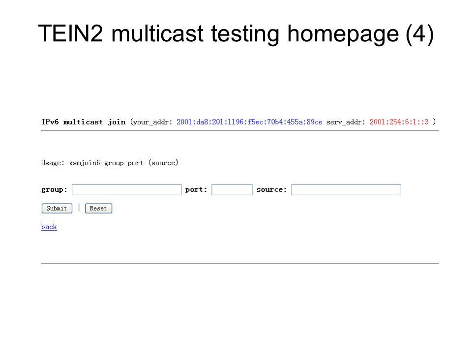 TEIN2 multicast testing homepage (4)