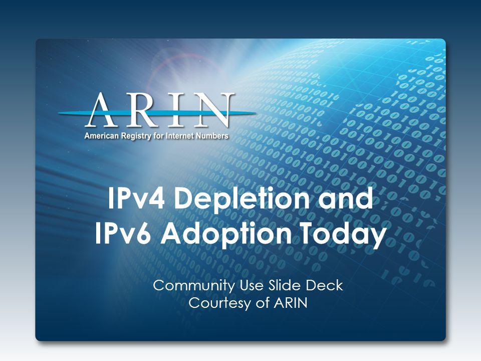 AREN IPv6 Allocation Strategy 2607:F808: 0 0 0 0 :0000:0000:0000:0000:0000 Which region.
