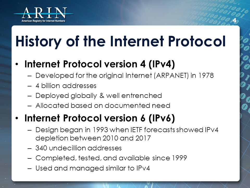 Good & Bad News Most servers and user equipment will self-assign an EIU-64 IPv6 address as soon as they hear an IPv6 router advertisement.