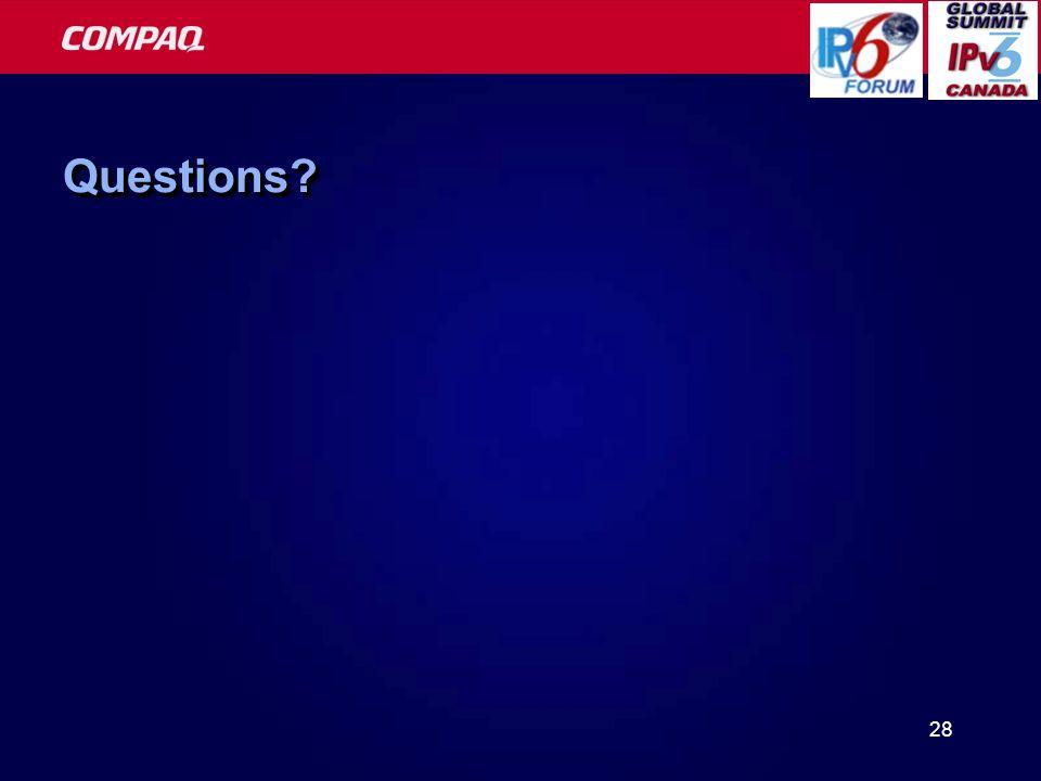 28 Questions Questions